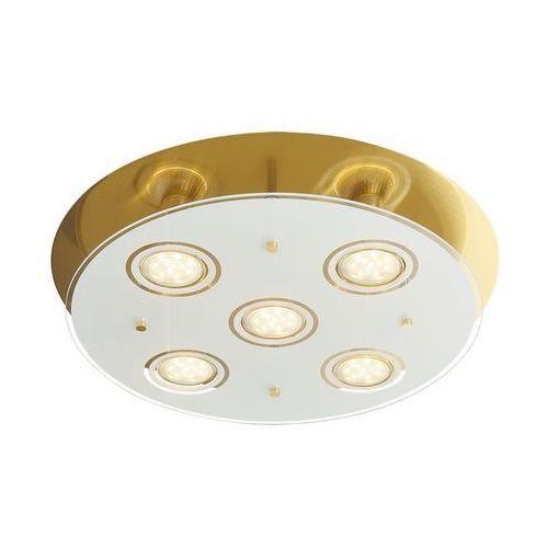 Rabalux Plafon naomi 2256 lampa sufitowa 5x15w gu10 led brąz