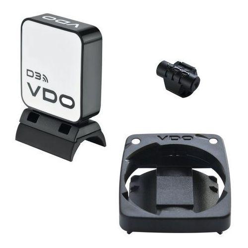 VDO Zestaw radiowy M5 / M6 + magnes biały/czarny 2017 Akcesoria do liczników (4037438030114)