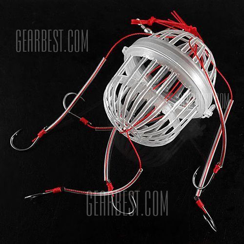 New Design No.11 Fishing Explosion Hook Bait Cage for Fishmen and Fishing Enthusiast