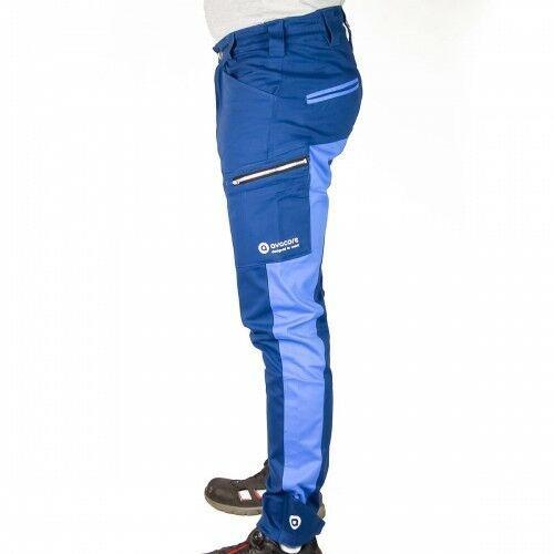 Spodnie do pasa TUBBOS w kolorze niebiesko-błękitne, SUB34483