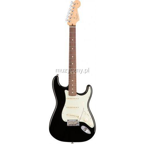 american pro stratocaster rw black gitara elektryczna, podstrunnica palisandrowa marki Fender