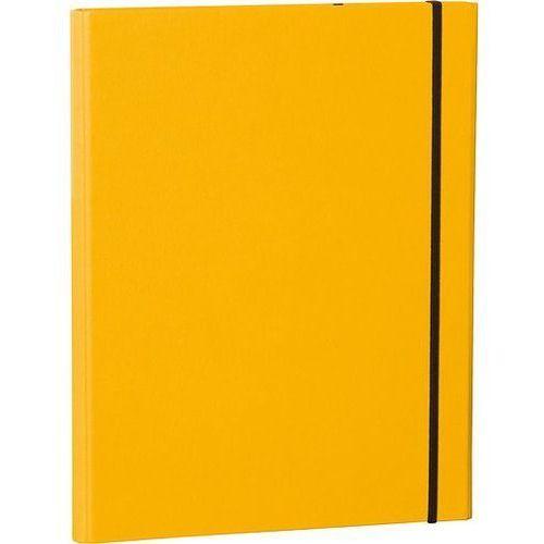 Semikolon Teczka z klipsem uni żółta