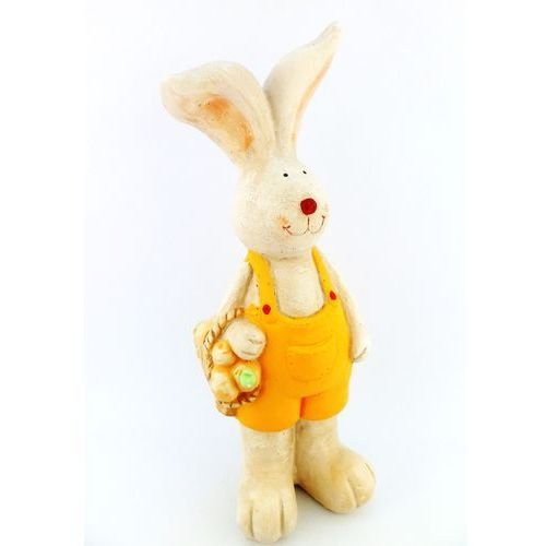Zajączek wielkanocny z koszyczkiem WIELKANOC Wielkanocny zajączek - produkt z kategorii- Upominki
