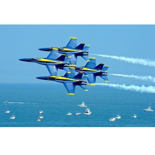 Fototapeta na ścianę zespół akrobacyjny marynarki stanów zjednoczonych fp 2350 marki Wally - piękno dekoracji