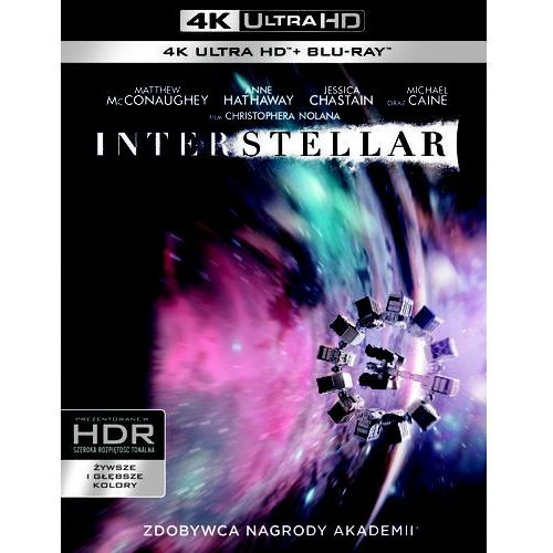 Galapagos Interstellar (blu-ray 4k) - christopher nolan darmowa dostawa kiosk ruchu (7321999347666)