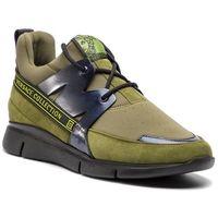 Sneakersy VERSACE COLLECTION - V900724 VM00433 VA36 Zielony, kolor zielony