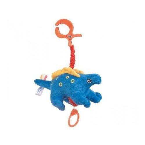 CANPOL Babies Pluszowa zabawka z pozytywką Dino, niebieska z kategorii Pozostałe maskotki