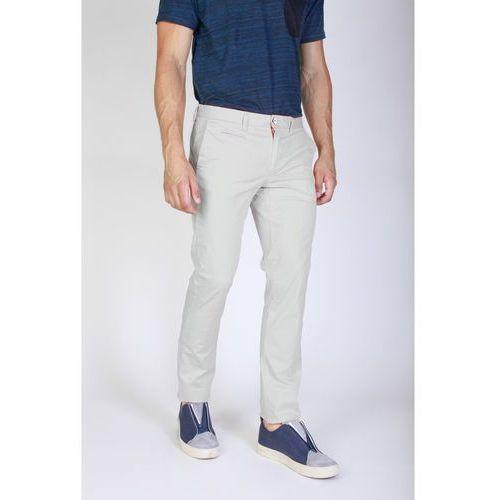 Spodnie męskie JAGGY - J1683T812-1M-77, kolor biały
