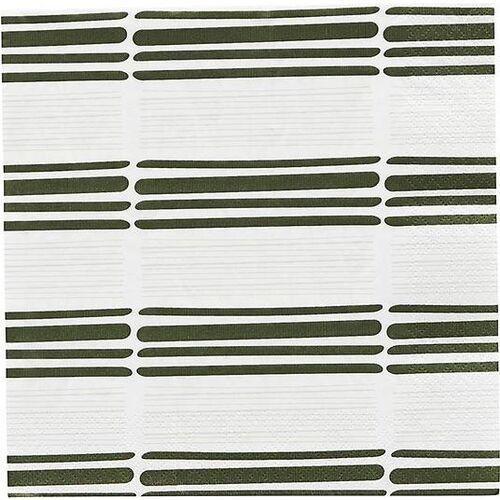 Serwetki papierowe stroke zielone 40 szt. (5707644698901)