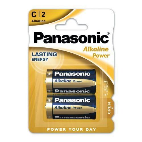 Panasonic 2 x alkaline power lr14 / c (blister)