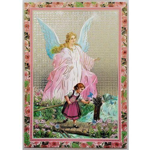 Ikona Anioł Stróż - dla dziewczynki, UP603