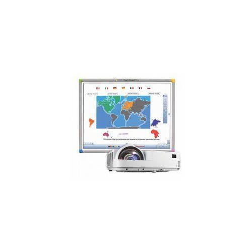 Interwrite Tablica interaktywna touch board plus 1078 + projektor krótkoogniskowy nec m333xs