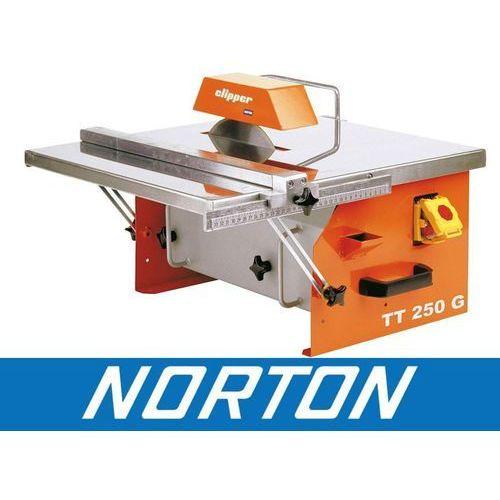 NORTON CLIPPER TT250 G PIŁA PILARKA PRZECINARKA DO CERAMIKI GLAZURY PŁYTEK BUDOWLANA + WALIZKA EWIMAX - OFICJALNY DYSTRYBUTOR - AUTORYZOWANY DEALER NORTON CLIPPER, 70184625705