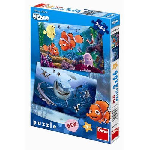 Nemo - puzzle 2 motivy v balení 2x66 díl marki Neuveden