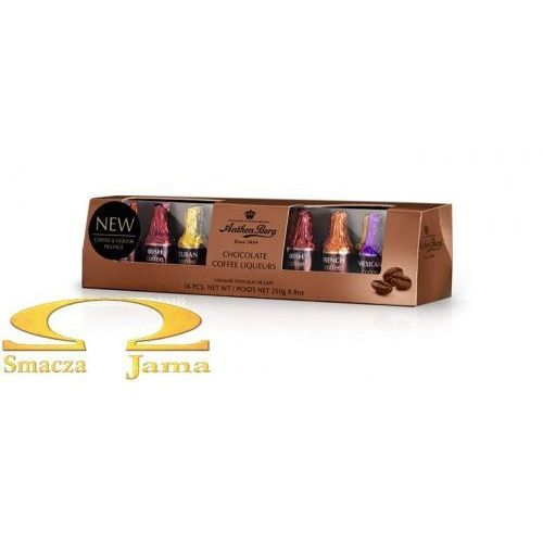 Czekoladki Anthon Berg - Chocolate Coffee Liqueurs 250g