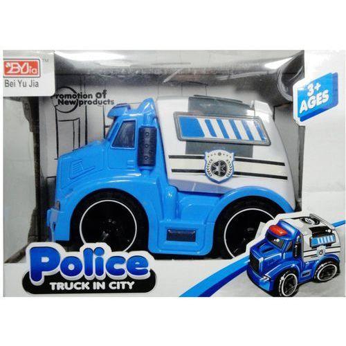 Zabawka SWEDE Ciężarówka policyjna Q2054 (5902496121380)