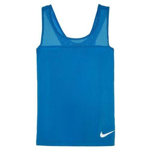 Nike Performance PRO HYPERCOOL Koszulka sportowa lightt photo blue/white