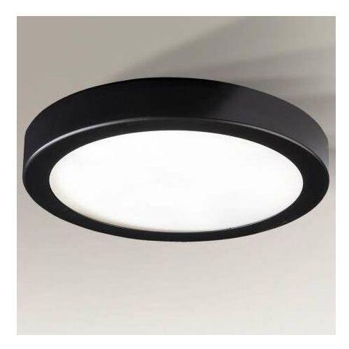 Plafon LAMPA sufitowa ITO 1189 Shilo natynkowa OPRAWA okrągły LED 14,5W 3000K metalowa czarna (5903689911894)