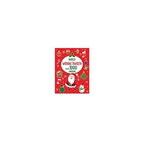 Bardzo wesołe Święta ponad 1000 naklejek (9788328046740)