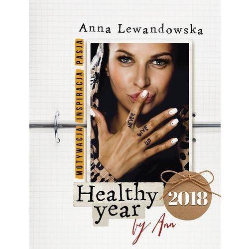 Kalendarz książkowy healthy year 2018 by ann - darmowa dostawa kiosk ruchu marki Anna lewandowska