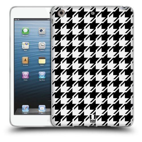 Etui silikonowe na tablet - Houndstooth Patterns BLACK