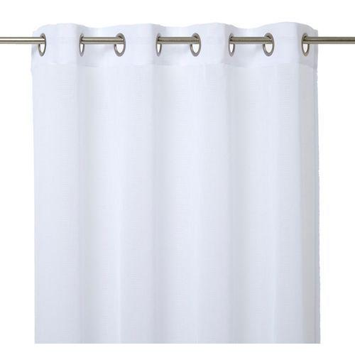 Firana GoodHome Huka 140 x 260 cm biała (3663602685654)
