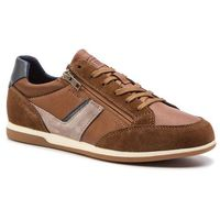 Sneakersy GEOX - U Renan C U824GC 022BC C6GF4 Browncotto/Navy, w 7 rozmiarach