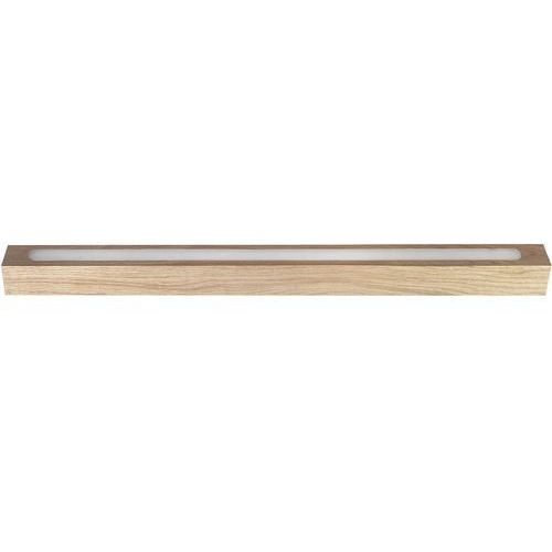 Plafon LAMPA sufitowa FUTURA WOOD LOW 32707 Sigma drewniana OPRAWA LED 8W listwa belka dąb