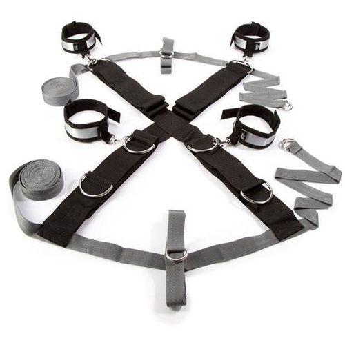 Fifty shades of grey Zestaw do krępowania do łóżka -  over the bed cross restraint