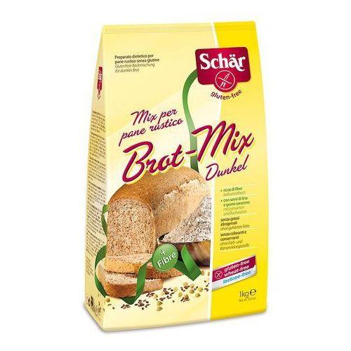 Schär Brot mix dunkel - bezglutenowa mąka na chleb razowy 1kg (8008698008997)
