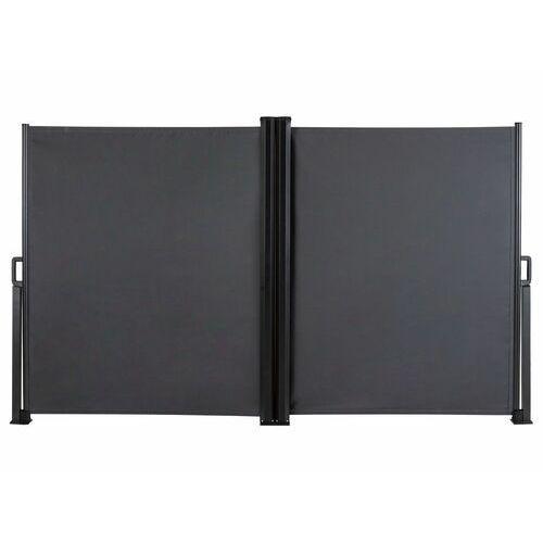 FLORABEST® Markiza boczna podwójna 160 x 600 cm ant (4056233857900)