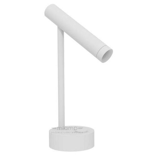 Stojąca LAMPA biurkowa FLASK T W 49.7111.966.kolor Chors metalowa LAMPKA regulowana LED 6,4W tuba, kolor Biały