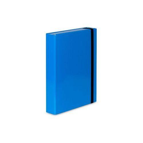 Teczka z gumką  caribic box a4 341/19 jasna niebieska marki Vaupe
