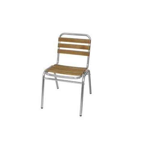 Bolero Krzesło sztaplowane | 480x560x(h)770mm