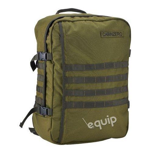 Plecak torba podręczna CabinZero Military + pokrowiec organizer gratis - zielony, kolor zielony
