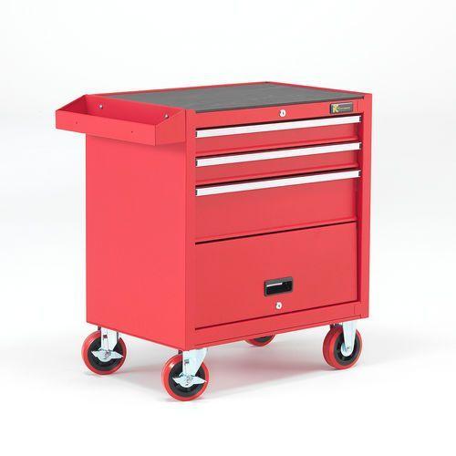 Aj produkty Wózek narzędziowy, 3 szuflady, 805x680x460 mm