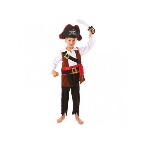 Kostium pirat z mieczem dla chłopca - 3/5 lat (104) marki Amscan
