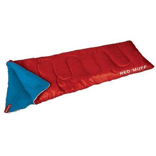Letni Śpiwór Turystyczny Kołdra MUFF SPOKEY Red - Czerwony