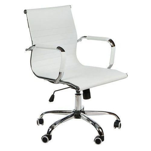 Fotel biurowy bx-5855 biały marki Corpocomfort