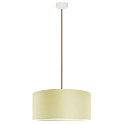 Klasyczna LAMPA wisząca MIKA XL1/S/ECRU Sotto Luce abażurowa OPRAWA okrągła ecru, MIKA XL1/S/ECRU