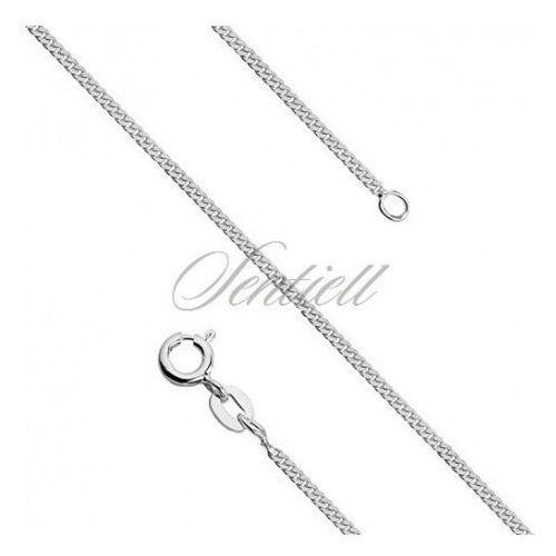 Silver (925) diamond-cut curb chain - curb Ø 044 weight from 2,75g - GSD044