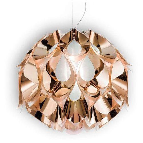 FLORA - przepiękna lampa wisząca w miedzianym