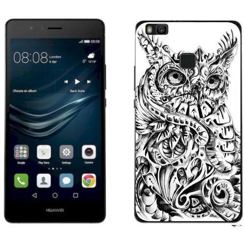 Huawei P9 Lite 2017 - etui na telefon - Kolekcja boho - sówka - J95, kolor Huawei