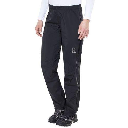 Haglöfs L.I.M III Spodnie długie Kobiety czarny S-długie 2018 Spodnie przeciwdeszczowe, kolor czarny