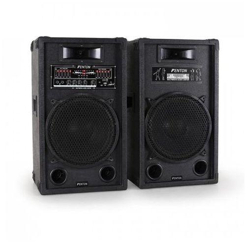 aktywny zestaw głośników pa 30cm 1200w usb-sd-mp3 marki Skytec