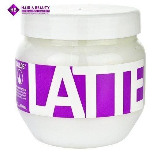 latte maseczka do włosów zniszczonych zabiegami chemicznymi (hair mask) 800 ml marki Kallos