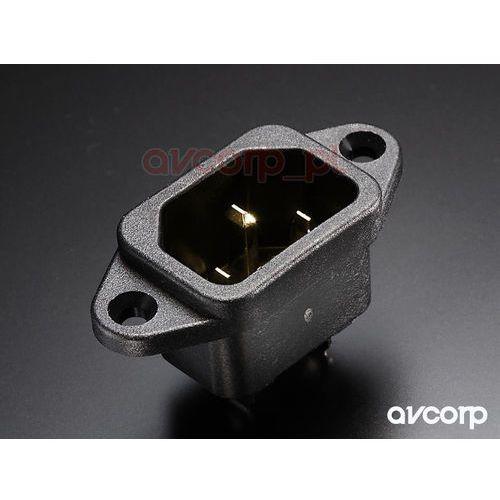 ac-inlet (g) - gniazdo montażowe iec - pozłacane marki Furutech