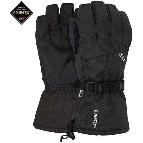 Pow Rękawice snowboardow - warner gtx long glove black (short) (bk) rozmiar: l
