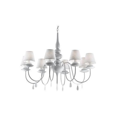 Ideal lux  35574 - żyrandol na łańcuchu blanche sp8 8xe14/40w/230v (8021696035574)
