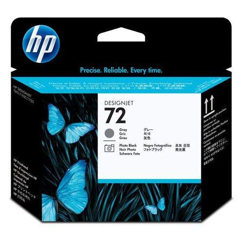HP oryginalny głowica drukująca C9380A, No.72, grey/black, HP Designjet T1100, T770 (0808736779593)